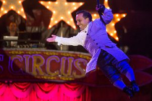 Back by popular demand is Paulo Dos Santos ' a brilliant 3 foot 6 inches (107cm) tall showman, acrobat and comedian.