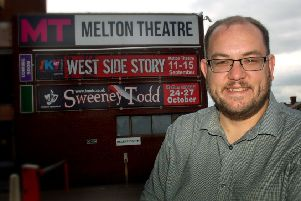 Michael Harris-Wakelam, who is leaving his post as manager at Melton Theatre after nearly seven years service EMN-180608-165222001