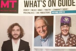 Grab your copy of Melton Theatre's What's On Guide Autumn/Winter 2018 PHOTO: Supplied
