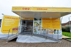 The LOROS Local mobile resource which has been extensively damaged by thieves EMN-181010-152108001