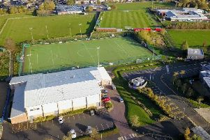 An aerial view of Melton Sports Village'PHOTO Mark @ Aerialview360 EMN-181031-094935001