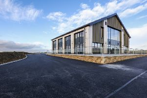 The Get Busy Living Centre, at Burrough on the Hill, which has won a national building award EMN-180511-170635001