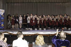 The Vale's Got Talent finalists being applauded by the judges PHOTO: Supplied