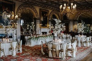 Weddings at Belvoir Castle.