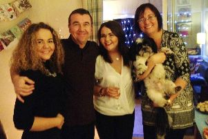 Leah Reek, who was killed in an explosion in Leicester, pictured with her parents, John and Joanne, and sister Molly EMN-190118-163831001