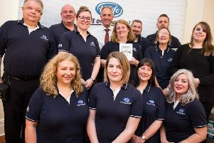Some of the award-winning Town & Country Petfoods team.