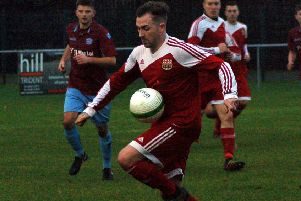 Jack Baker scored his first league goals for Asfordby with a brace at Friar Lane EMN-190129-191553002