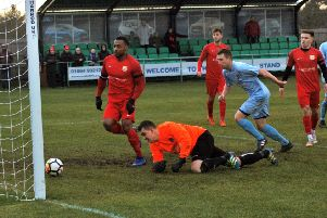 Town's leading scorer taps in his fourth goal in two games EMN-190402-084130002