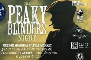 Peaky Blinders comes to Melton Cattle Market PHOTO: Supplied
