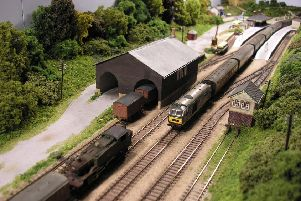Marsh Chipping featured at Syston Model Railway Society's exhibition PHOTO: Supplied
