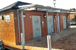 The new St Mary's Way public toilets have been opened by Melton Council EMN-190221-110908001