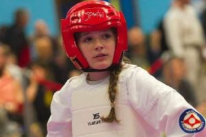 Charlotte will fight internationally for England just three years after taking up the martial art EMN-190226-182648002