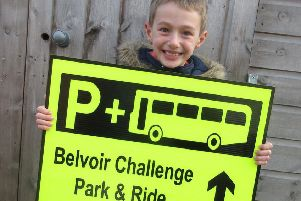 Participants in this year's Belvoir Challenge are being advised to use a new park and ride scheme EMN-190228-095629001