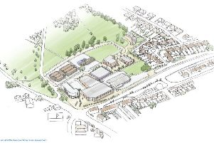 An illustrative artists impression of what the former Bexhill School site could look like