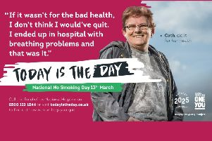 Today (March 13) is national No Smoking Day