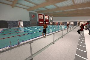 How the new pool would look at St George's Academy.