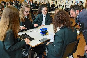 Exciting engineering and science day at Kesteven and Sleaford HIgh School.
