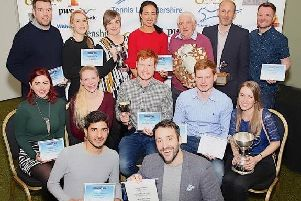 The Melton squad enjoyed a prolific evening at the Leicestershire Tennis Awards EMN-190320-174049002