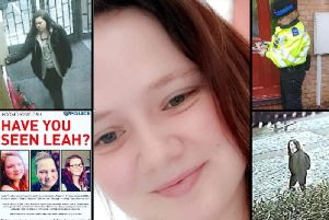 Have you seen missing Leah?