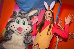 Get acquainted with the Easter Bunny PHOTO: Supplied