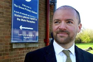 Steve Nash, headteacher at The Grove Primary School in Melton EMN-190326-111340001
