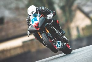 Nick Whitcher on track at Oulton Park. Picture courtesy Mitch DuCran Photography
