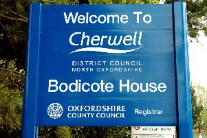 Cherwell District Council's headquarters at Bodicote House