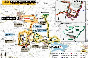 Pick your spectators route around this year's new CiCLE Classic course EMN-190418-113840002