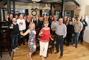 Pub re-opens: Isham: The Lilacs pub, re-opened after a huge community effort to renovate the last remaining pub in the village. ''Wednesday, 24th April 2019 NNL-190424-205943009