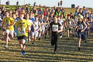 Youngsters take on the junior course