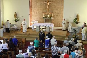 The final service is held at St Peter's Catholic Church, in Melton EMN-190529-124932001