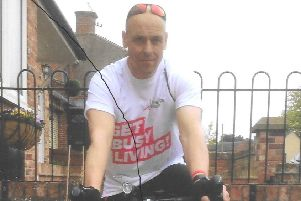 Hose man Richard Harris, who is preparing to cycle 800 miles through France in aid of two charities EMN-190530-162422001