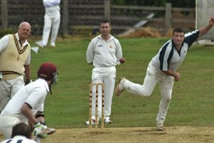 Steve Allen (2 for 25) opened the bowling for Buckminster and Barrowby EMN-190406-170339002