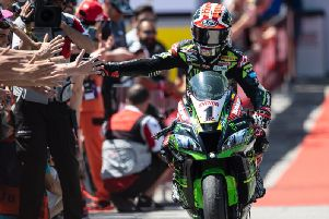 Jonathan Rea has taken over the lead of the World Superbike Championship for the first time this season.