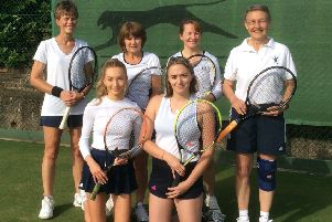 Hamilton Tennis Club's ladies' first team sealed promotion in style EMN-190716-152018002