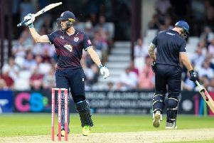 Rob Keogh notched a career-best 59 for the Steelbacks (pictures: Kirsty Edmonds)