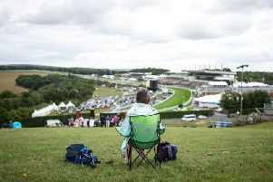 Quite a view for day two of Glorious / Picture by Alan Crowhurst, Getty Images