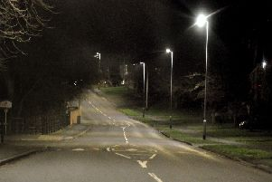 Street lighting in Baldocks Lane, Melton EMN-190731-172837001