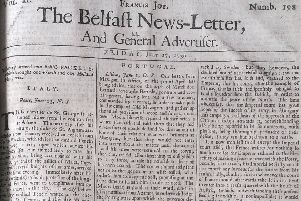 The Belfast News Letter of July 27 1739 (which is August 7 in the modern calendar)