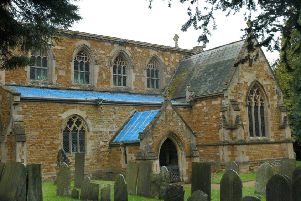 St James the Greater Church in Little Dalby pictured after it was targeted by lead thieves in 2016 - there has now been a fourth raid in recent years EMN-190815-150016001