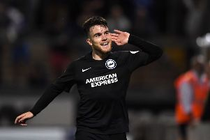Aaron Connolly could feature more after the exits of Florin Andone and Jurgen Locadia