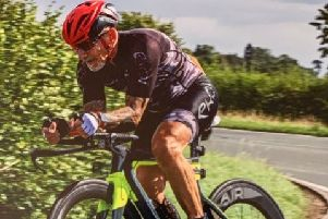 Melton Times Sports Personality of the Year Mick Stevens completed his first 100-mile time trial EMN-190927-153859002