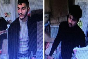 Do you recognise these men? Photo: Sussex Police