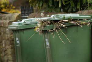 Residents have to pay to have green waste collected from their homes EMN-191029-135850001