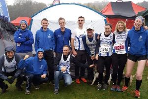 The Stilton Striders squad at the English National Cross Country Relays EMN-190511-100932002