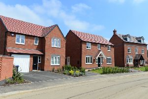 A typical housing development constructed by Bellway, which plans to build more than 500 new homes off Leicester Road, Melton EMN-191115-111302001