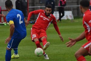 Nathan Arnold made it five goals for the season at Bourne EMN-191125-083018002