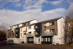 The Beckmill Court flats which were refurbished last year by Melton Council at a cost of more than �2million EMN-191218-091256001