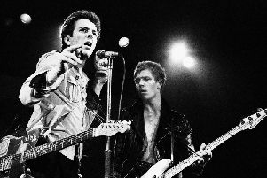 The Clash at Ayelsbury in 1978