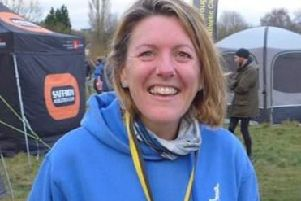 Katie Hateley won a brilliant masters silver medal at the county cross country championships EMN-200701-170836002